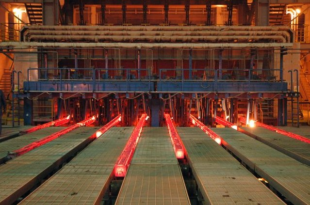 CONTINUOUS CASTER (CCM) AND STRIP PROCESSING LINES