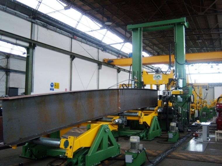 AUTOMATIC BEAM WELDING MACHINES